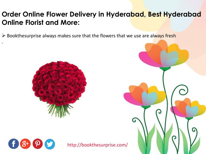 Order Online Flower Delivery in Hyderabad, Best Hyderabad     Online Florist and More: