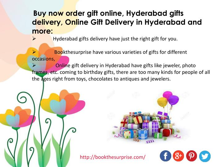 Buy now order gift online, Hyderabad gifts delivery, Online Gift Delivery in Hyderabad and more: