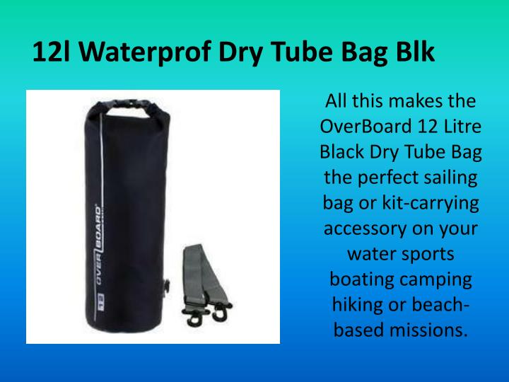 12l Waterprof Dry Tube Bag Blk