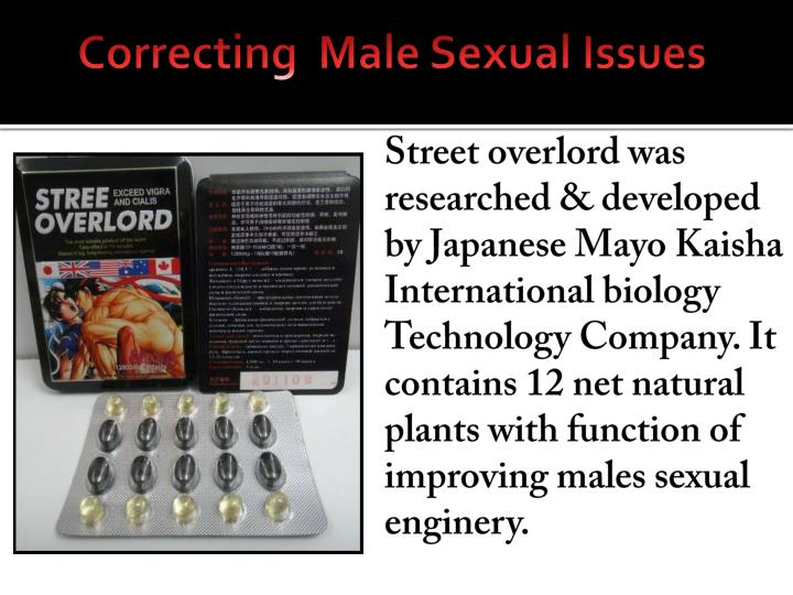 Correcting  Male Sexual Issues