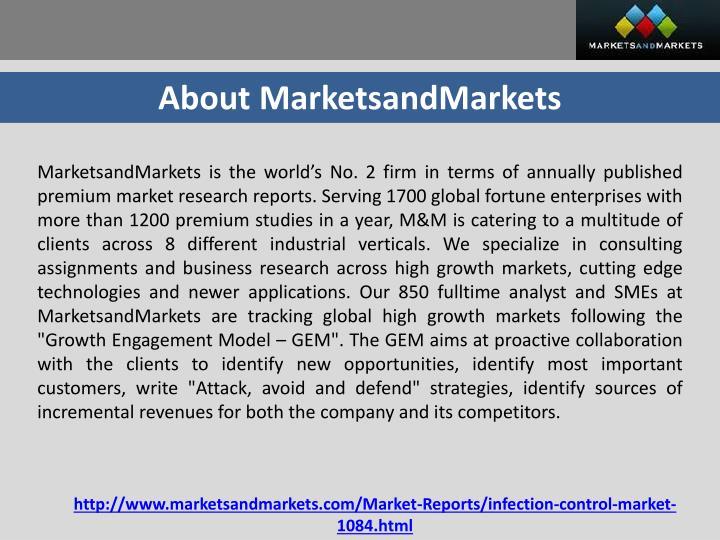About MarketsandMarkets