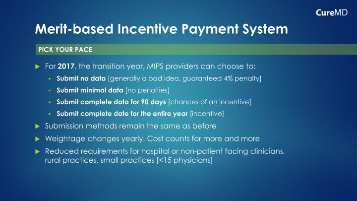 Merit-based Incentive Payment System