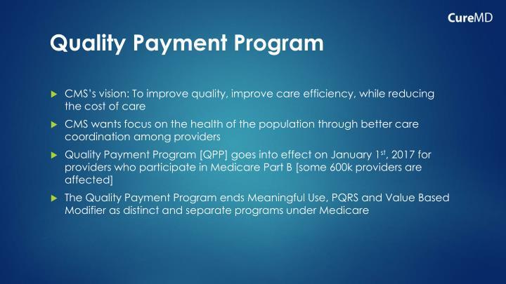 Quality Payment Program