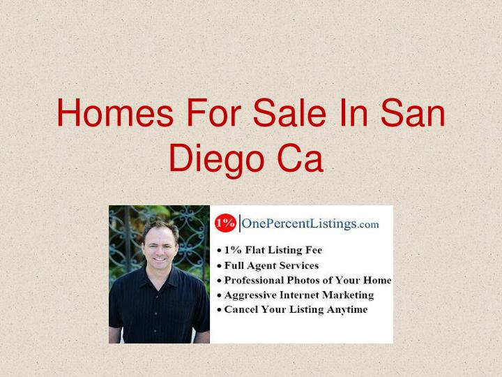 Homes for sale in san diego ca