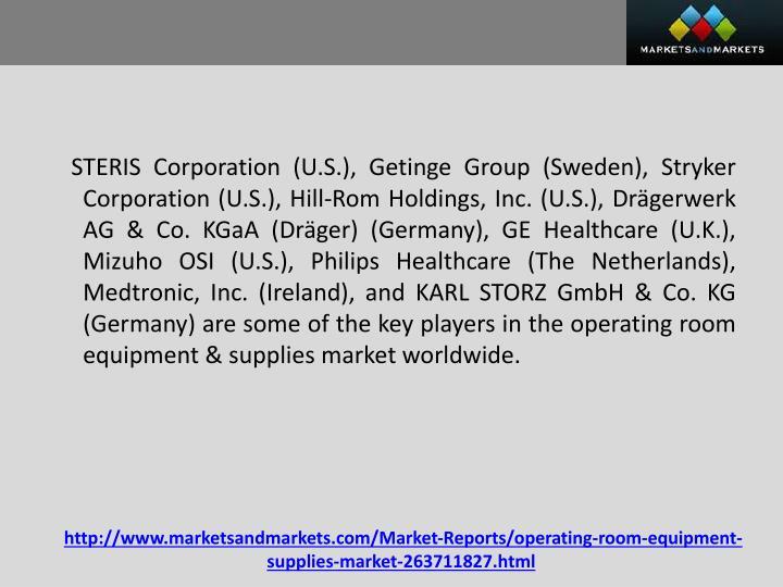 STERIS Corporation (U.S.),