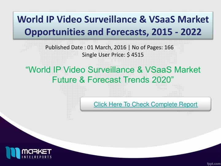 World IP Video Surveillance &