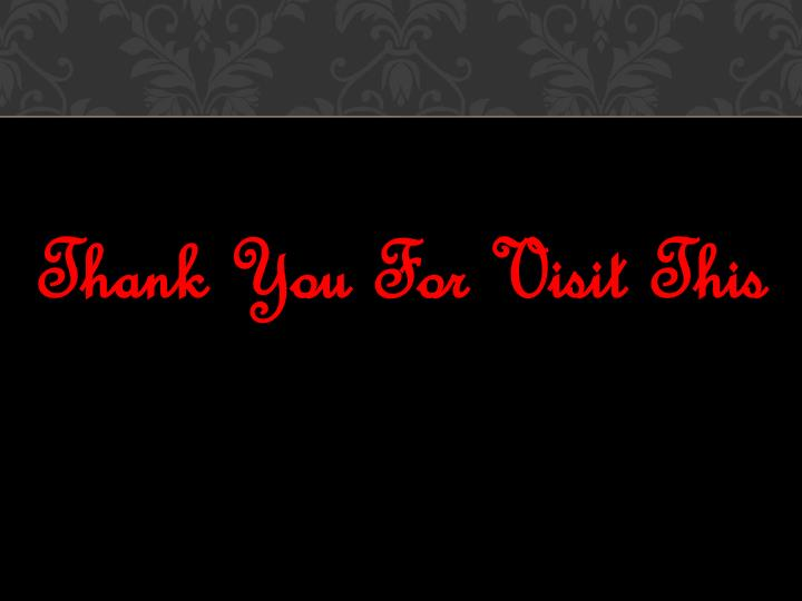 Thank You For Visit This