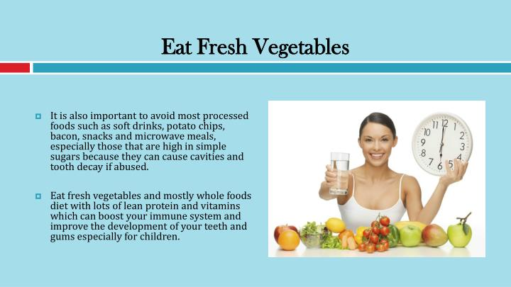Eat Fresh Vegetables