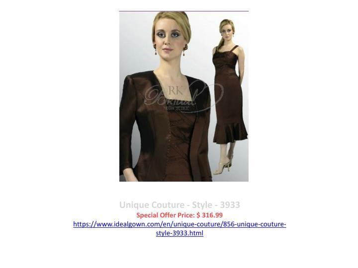 Unique Couture - Style - 3933