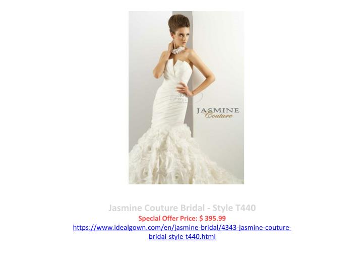 Jasmine Couture Bridal - Style T440