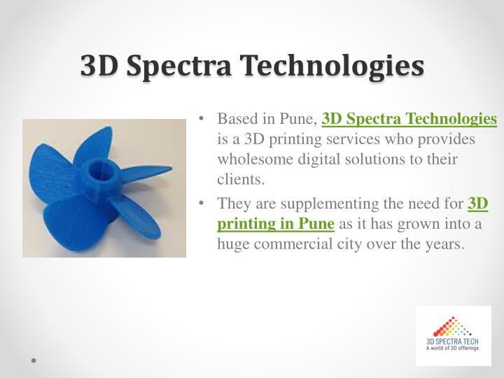 3D Spectra Technologies