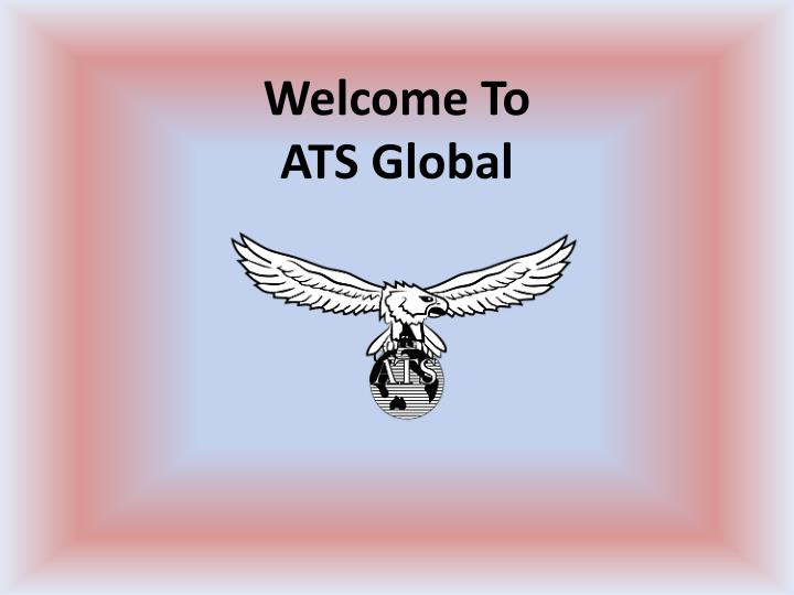 Welcome to ats global