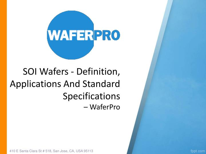 Soi wafers definition applications and standard specifications waferpro