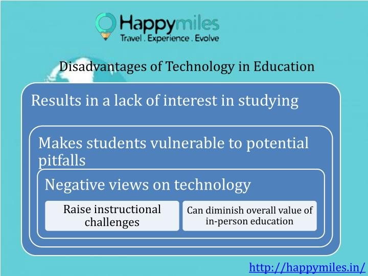 Disadvantages of Technology in Education