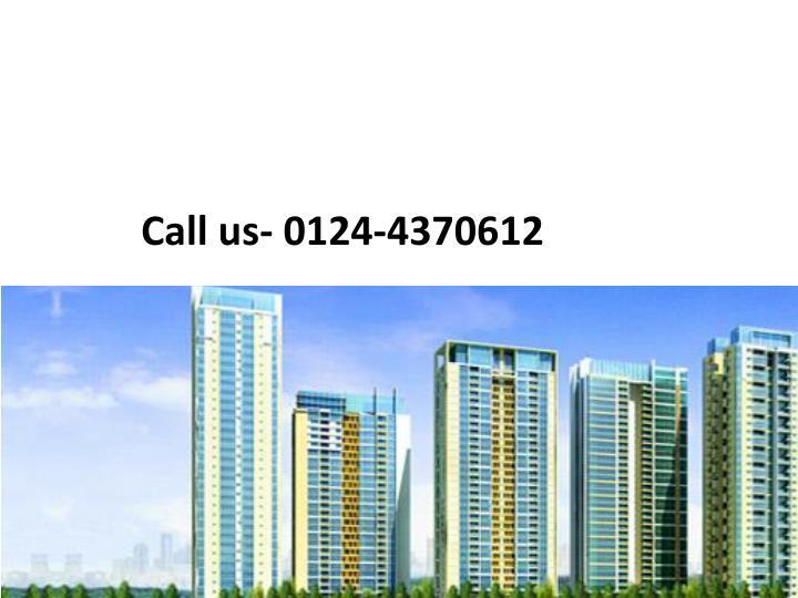 Call us- 0124-4370612