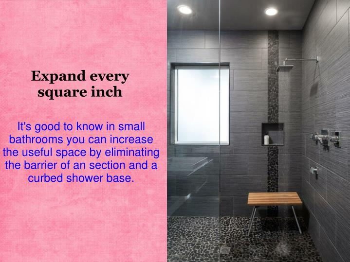 Expand every square inch