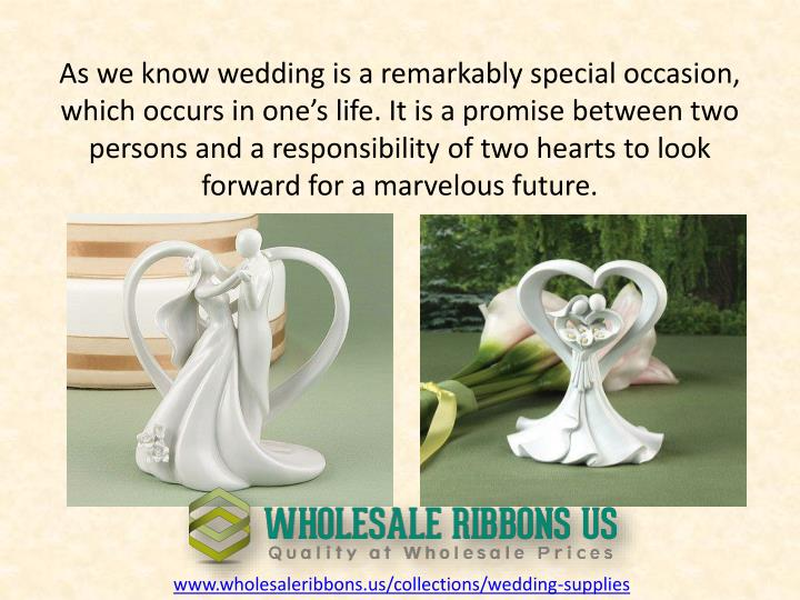 As we know wedding is a remarkably special occasion, which occurs in one's life. It is a promise b...