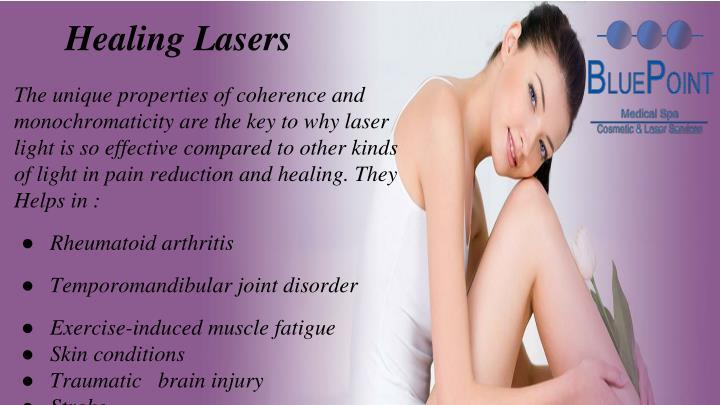 Healing Lasers