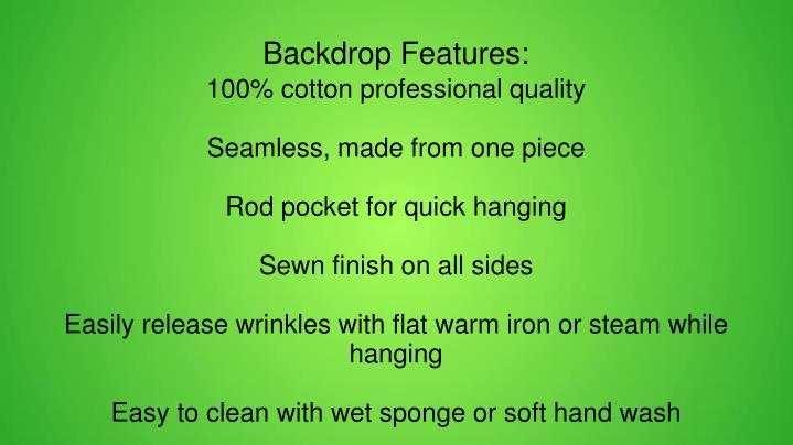 100% cotton professional quality