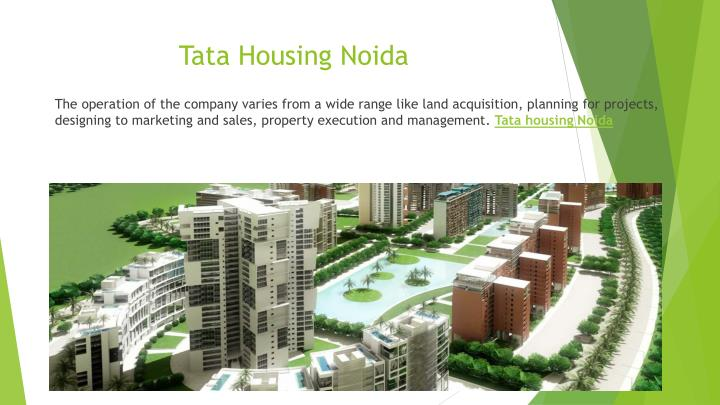 Tata housing noida