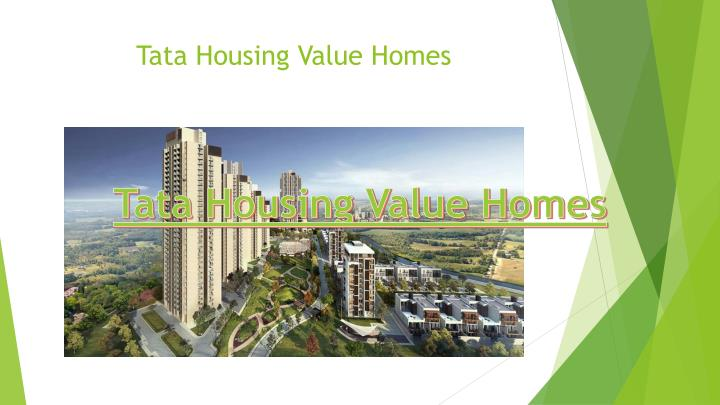 Tata Housing Value Homes