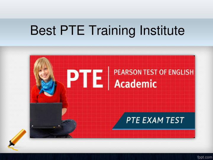 Best pte training institute