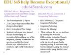 edu 645 help become exceptional edu645rank com4