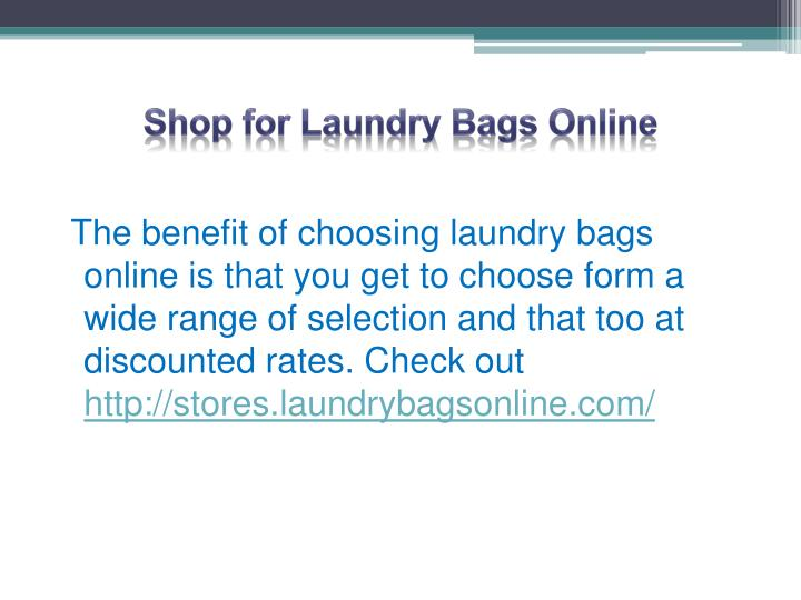 Shop for Laundry