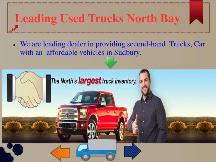 Leading Used Trucks North Bay