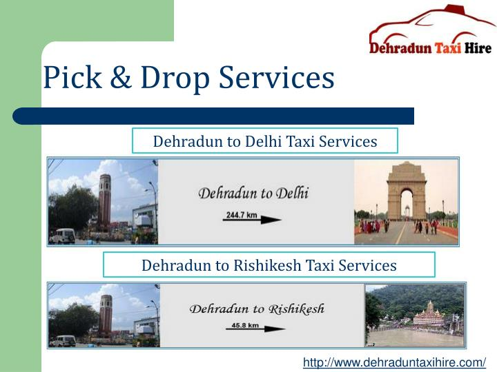 Pick & Drop Services