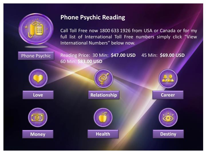 Phone Psychic Reading