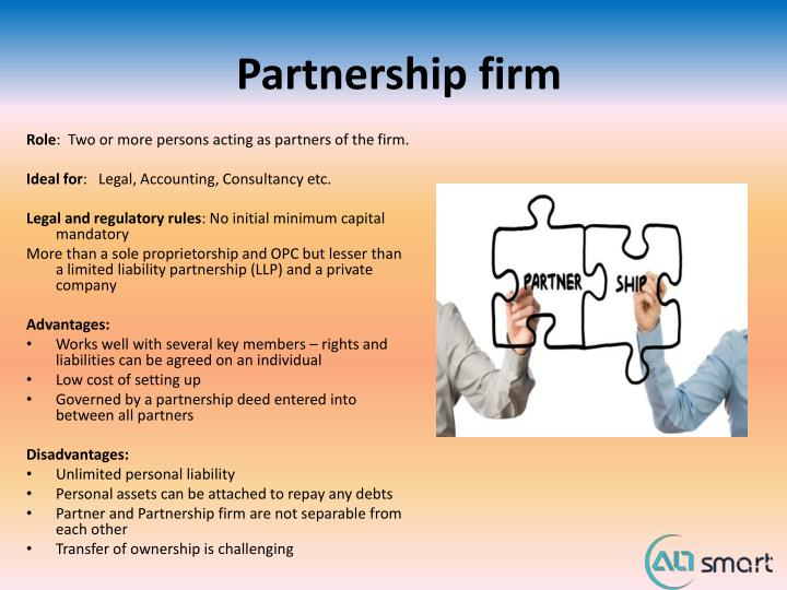 Partnership firm