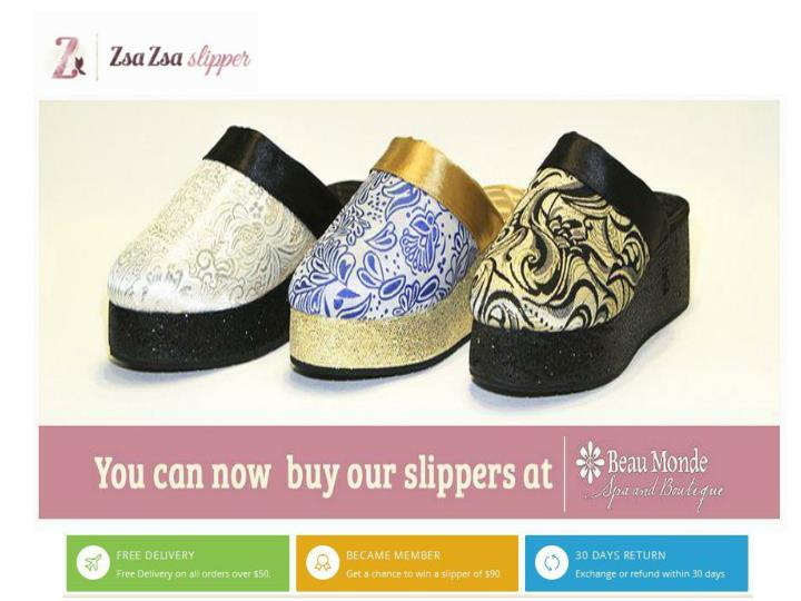 Buy luxurious womens slipper kansas at zsazsaslipper com 7446940
