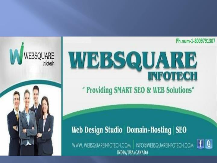 Web development seo services company in usa websquare infotech call on 1 8009791307