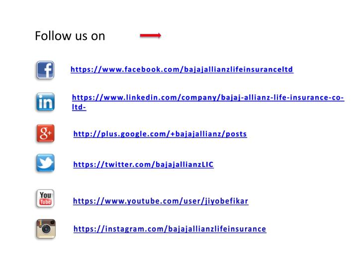 Follow us on
