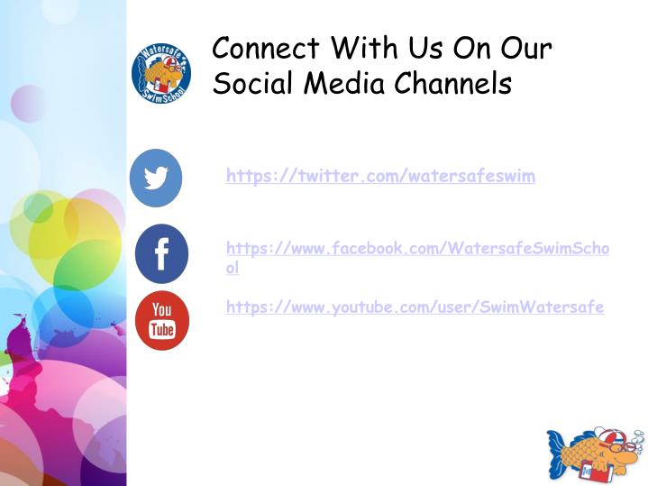Connect With Us On Our Social Media Channels