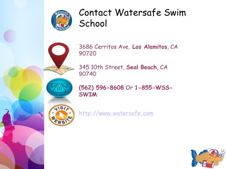 Contact Watersafe Swim School