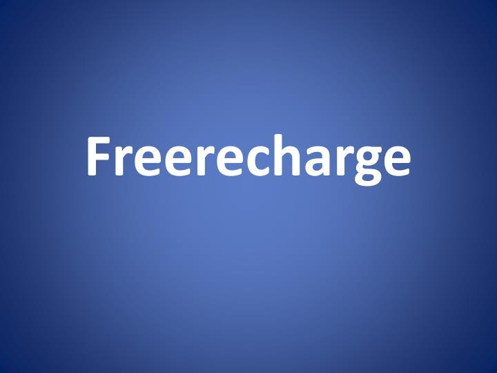 Freerecharge