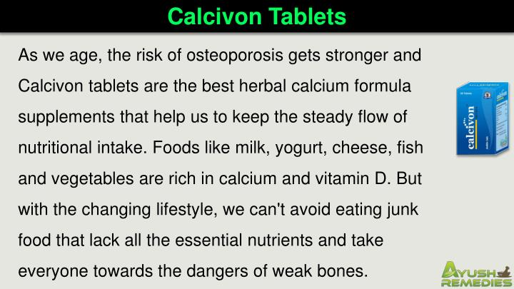 Calcivon Tablets