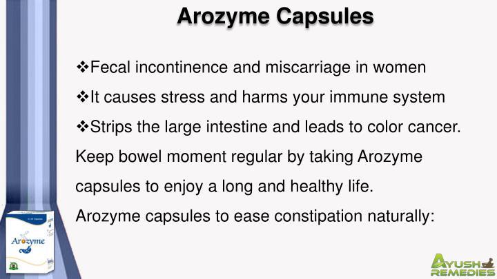 Arozyme Capsules