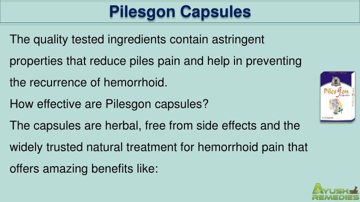 Pilesgon Capsules