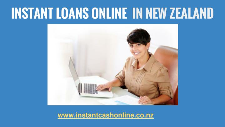 Instant loans online in new zealand
