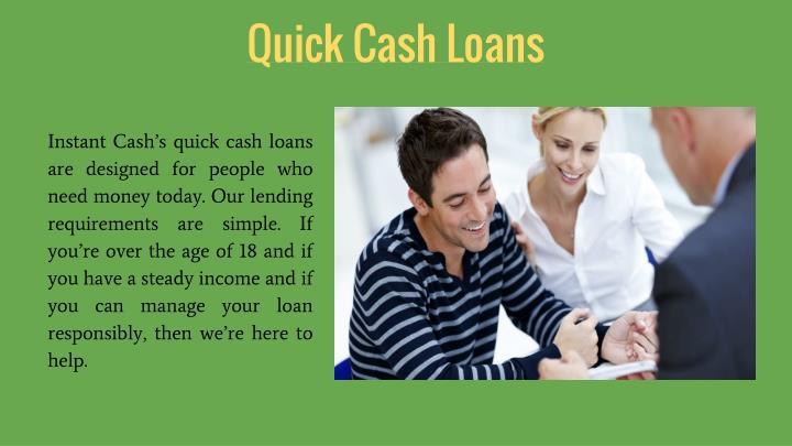 Quick Cash Loans