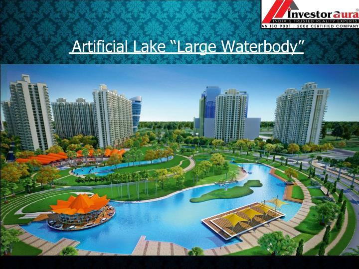 """Artificial Lake """"Large"""