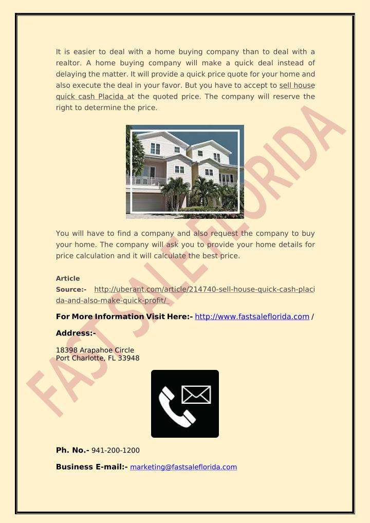 It is easier to deal with a home buying company than to deal with a