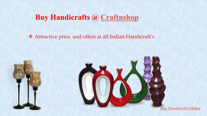 Buy Handicrafts @ Craftnshop