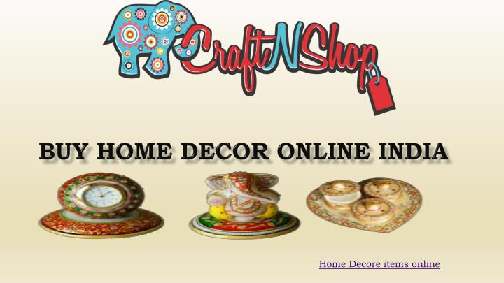 Home Decore items online