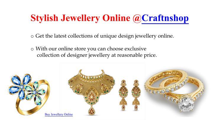 Stylish JewelleryOnline@Craftnshop