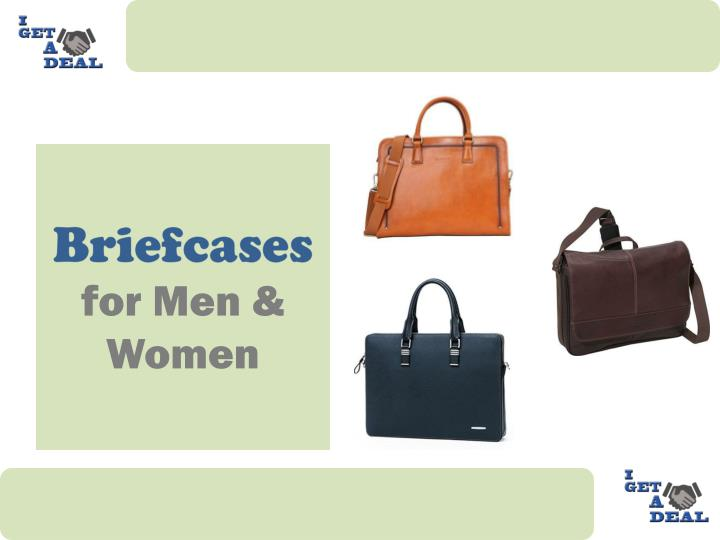 Briefcases for men women