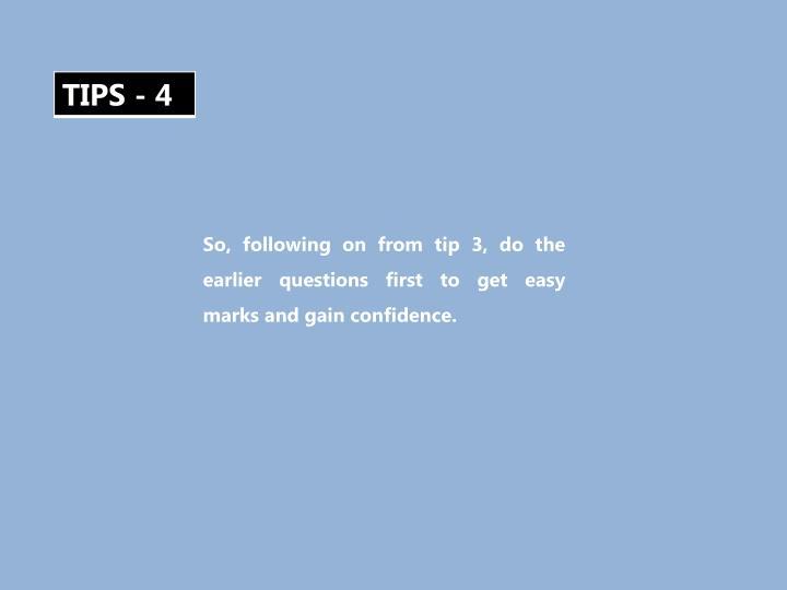 TIPS - 4